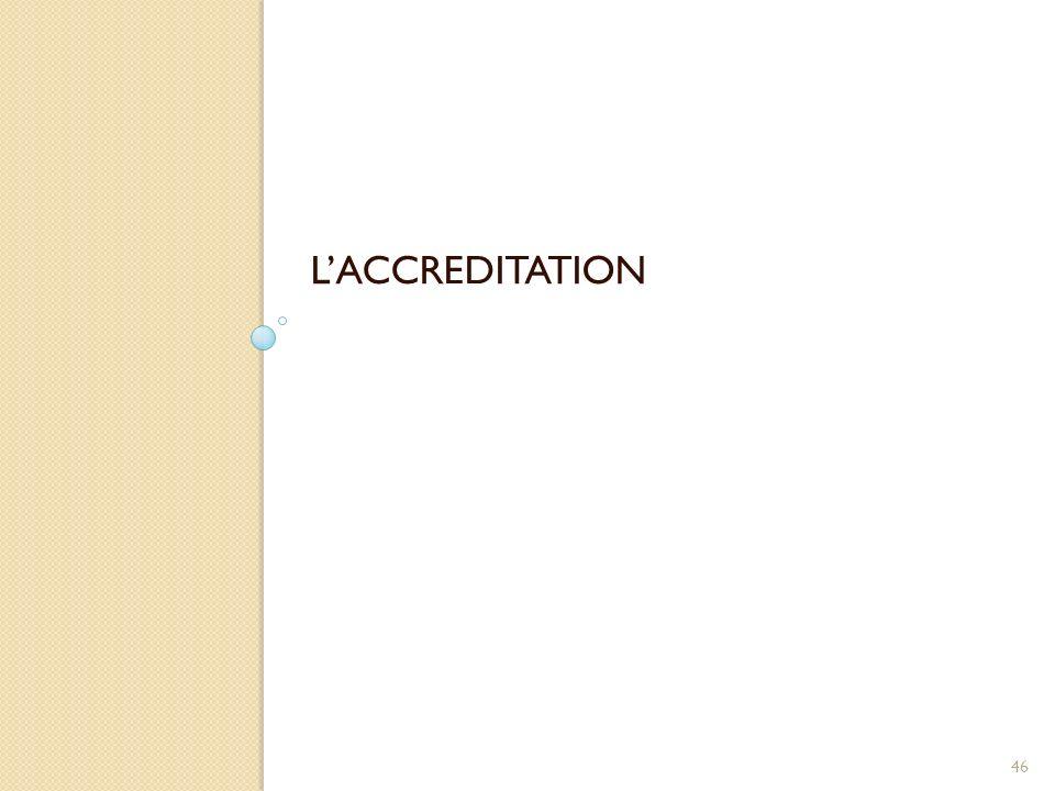 LACCREDITATION 46