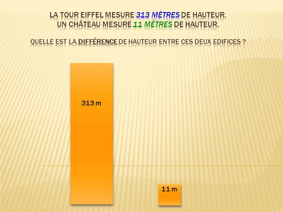 313 m 11 m