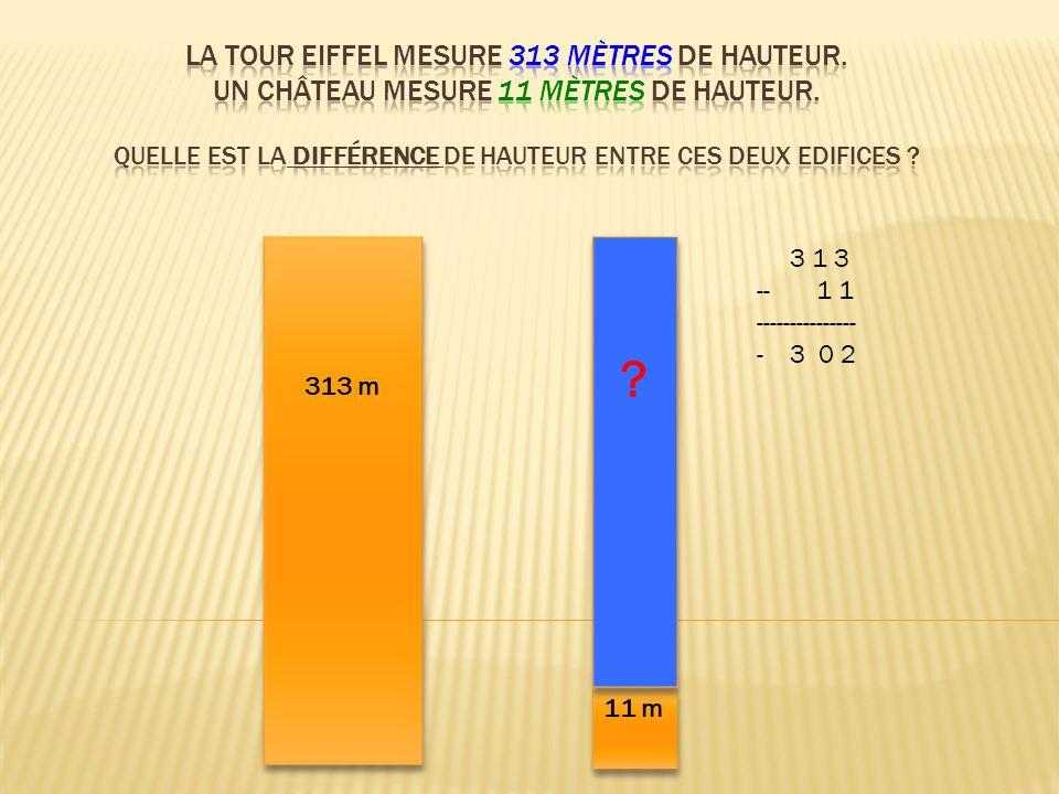 313 m 11 m ? 3 1 3 -- 1 1 --------------- - 3 0 2