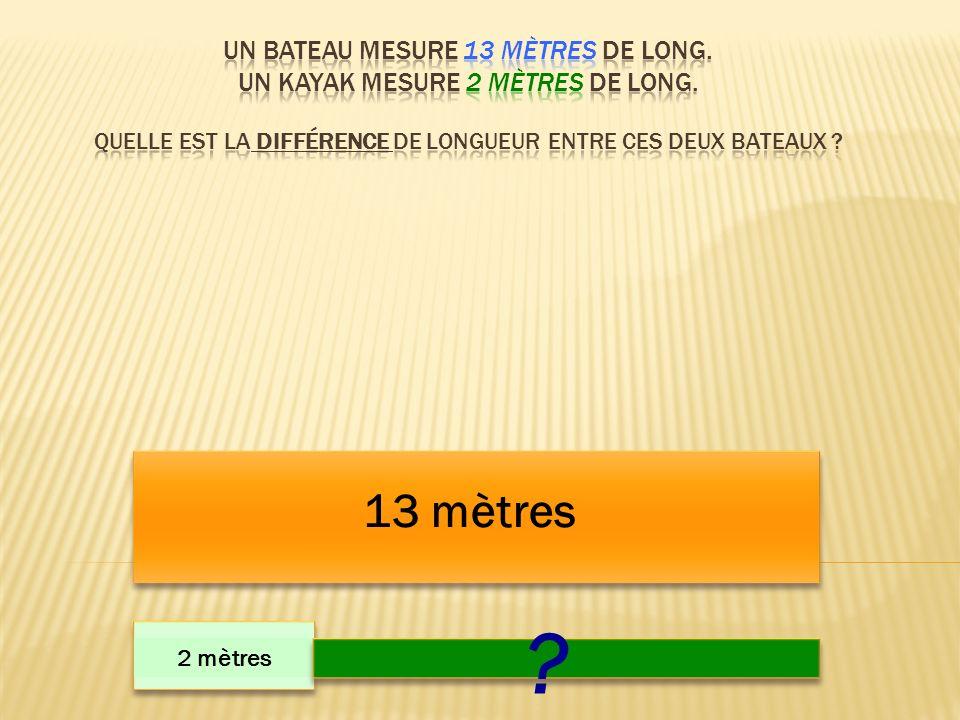 13 mètres 2 mètres ?