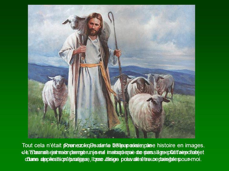 Prenez le Psaume 23 par exemple : « LEternel est mon berger : je ne manquerai de rien.
