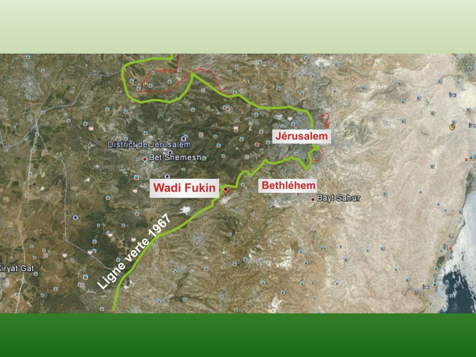 Wadi Fukin, le village