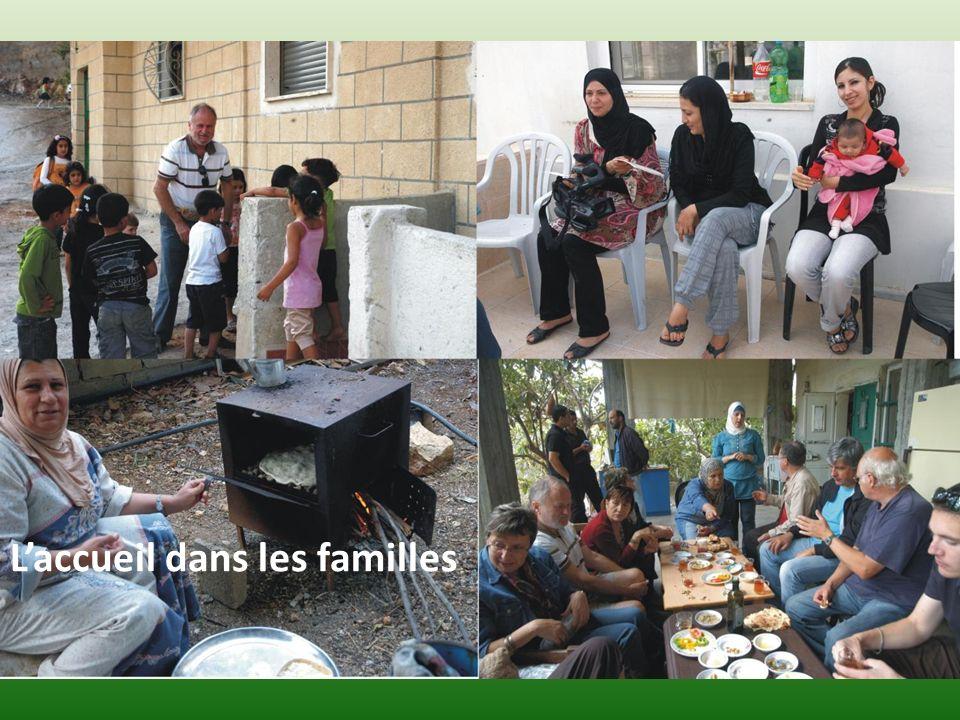 Laccueil dans les familles