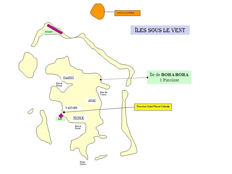 Iles Australes Île de RIMATARA Paroisse Saint François-Régis Île de RURUTU AMARU ANAPOTO MATUAURA MOERAI AVERA HAUTI ILOTS MARIA Aéroport 1 paroisse