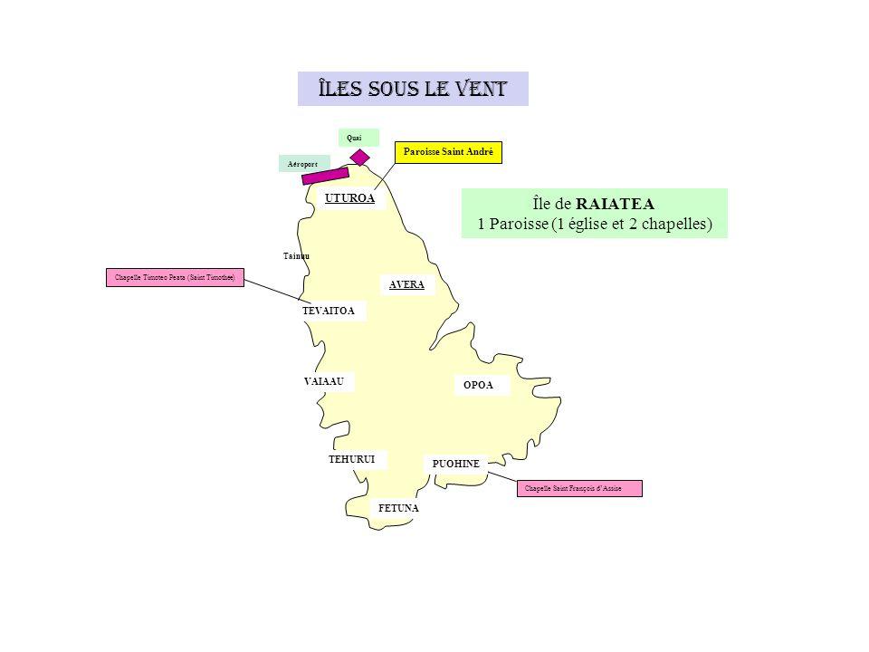 MAROTIRI (10 îlots) Iles Australes AHUREI AREA Eglise Notre-Dame de Foi Île de RAPA 1 église