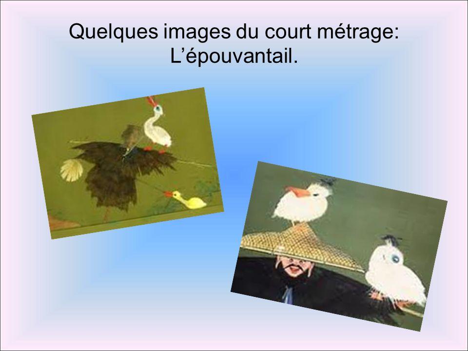 Quelques images du court métrage: Lépouvantail.