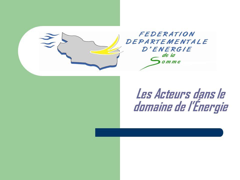 1 – Généralités sur lorganisation du système électrique français Suite aux directives européennes de décembre 1996 et juin 2003 ainsi quaux diverses dispositions législatives récentes, le système électrique français distingue 3 composantes différenciées :