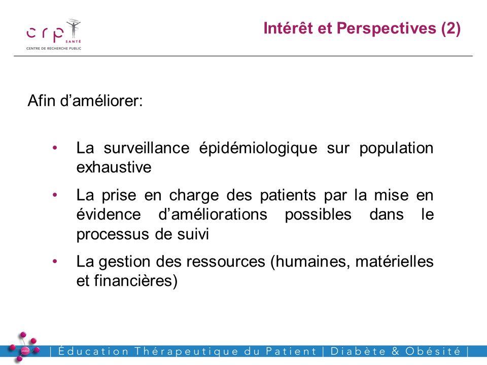 www.crp-sante.lu Afin daméliorer: La surveillance épidémiologique sur population exhaustive La prise en charge des patients par la mise en évidence da