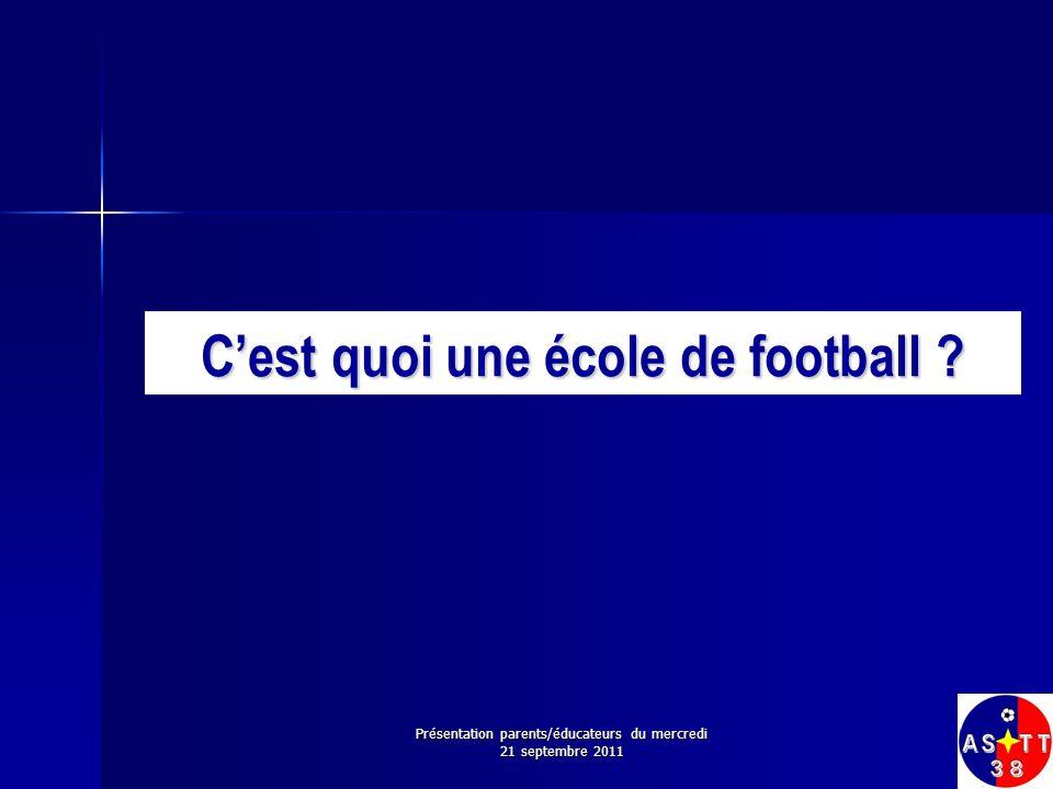 Quest-ce quune école de football .
