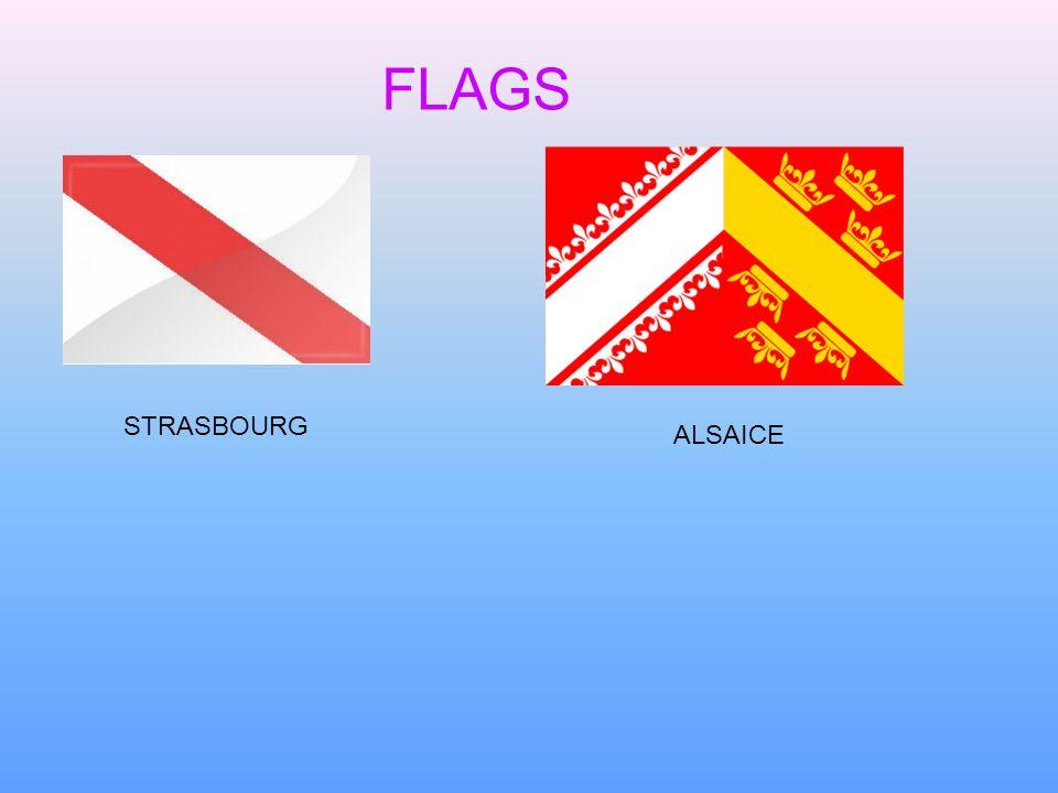 FLAGS STRASBOURG ALSAICE
