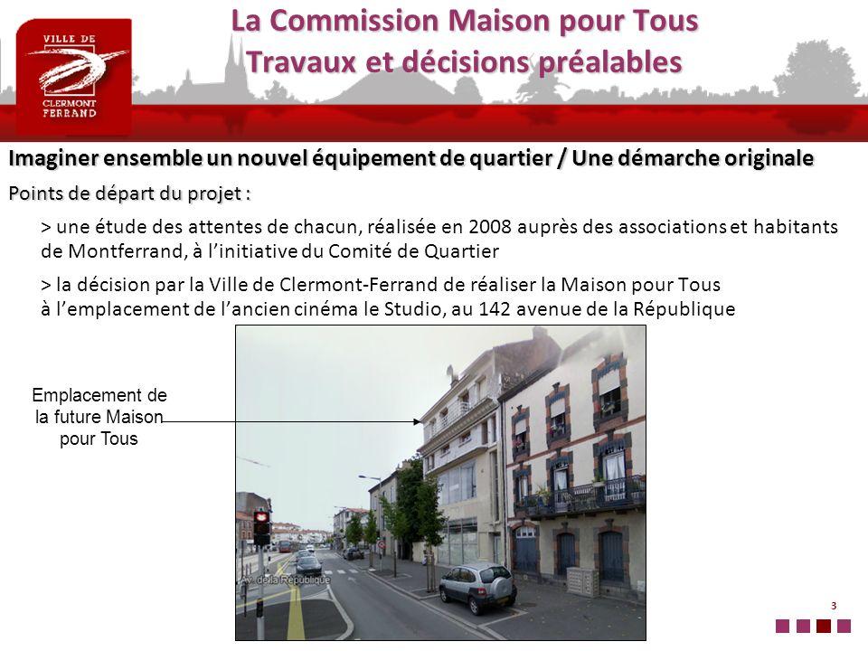 4 Les étapes du travail de la Commission MPT Jan.