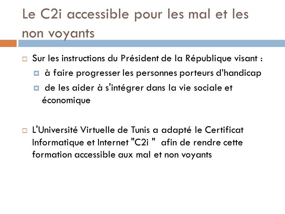 Sur les instructions du Président de la République visant : à faire progresser les personnes porteurs dhandicap de les aider à s'intégrer dans la vie