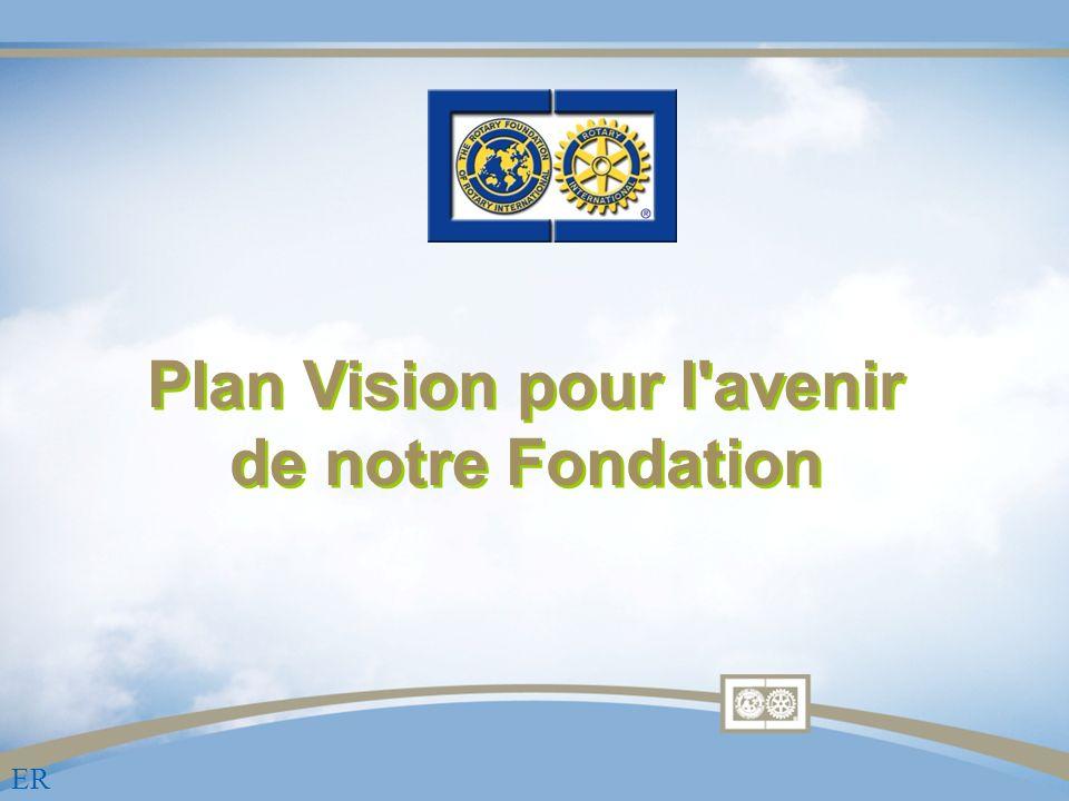 Plan Vision pour l avenir de notre Fondation ER