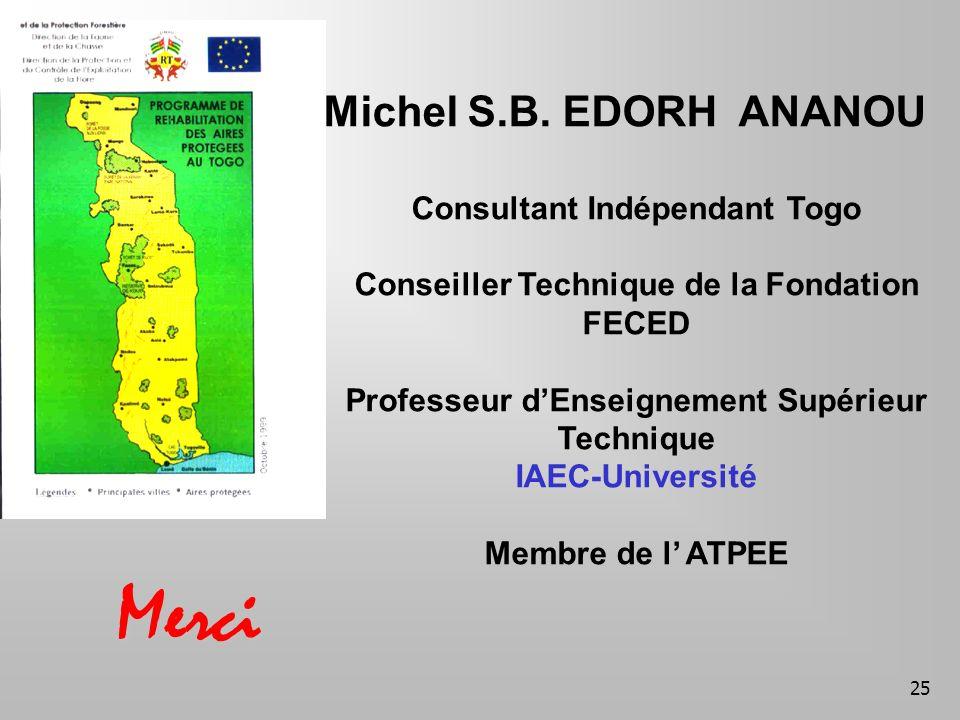 25 Merci Michel S.B.