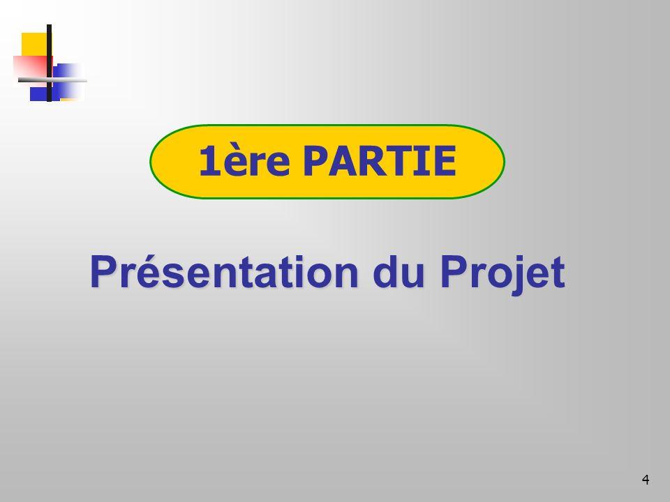 4 1ère PARTIE Présentation du Projet