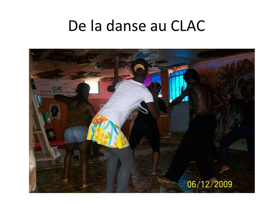 De la danse au CLAC