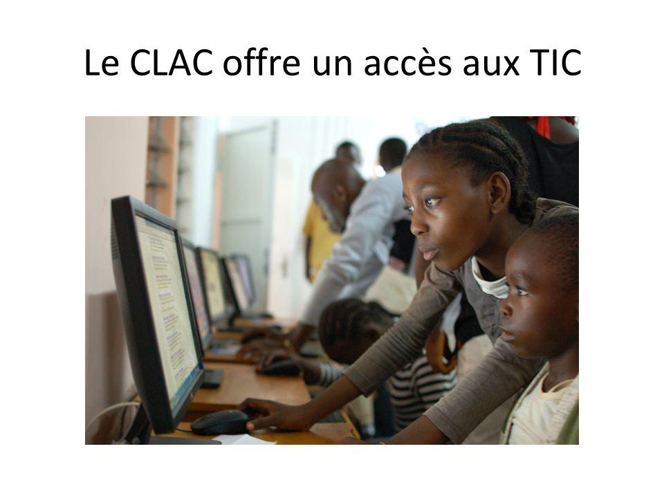 Le CLAC offre un accès aux TIC