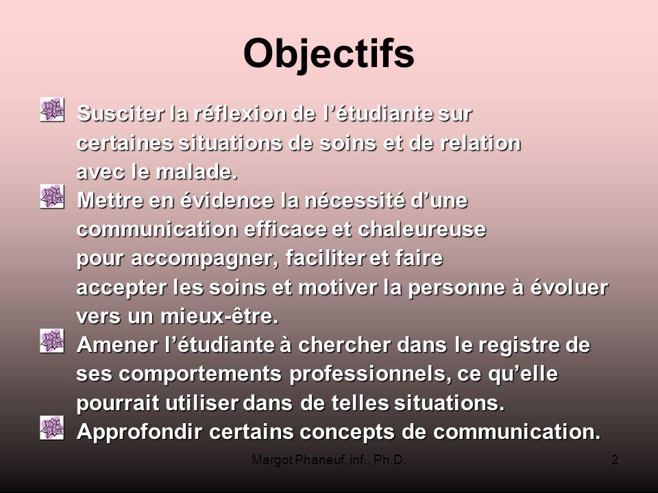 Margot Phaneuf, inf., Ph.D.83 Hé.une piqure pour vous.