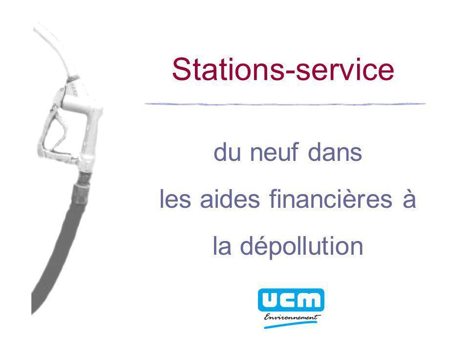 Stations-service du neuf dans les aides financières à la dépollution
