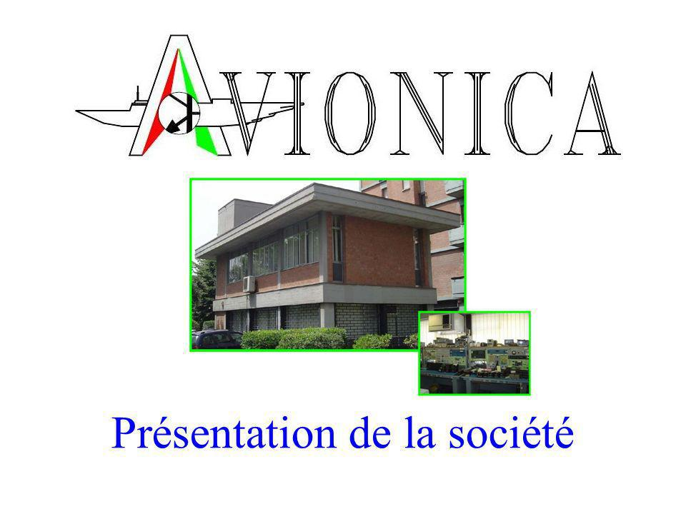 24/11/2009Avionica SpA Présentation de la Société Activities in detail (8/9) Avionica SpA peut projeter des héliports, soit sur les toits que au sol, pour opérations nocturnes et diurnes et fournir une ligne complète de systèmes, daccessoires et déclairages pour les héliports.