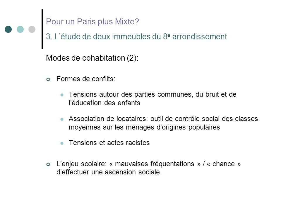 Pour un Paris plus Mixte. 3.