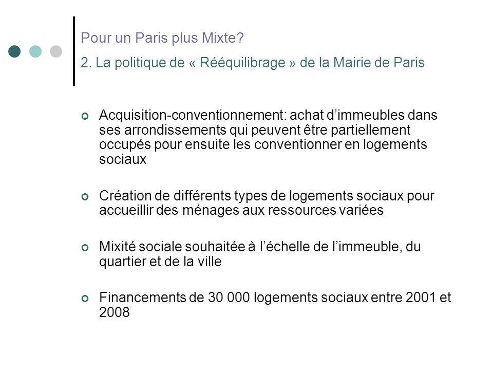 Pour un Paris plus Mixte. 2.
