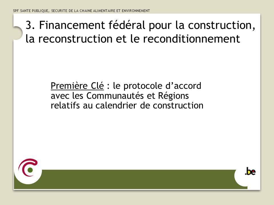 SPF SANTE PUBLIQUE, SECURITE DE LA CHAINE ALIMENTAIRE ET ENVIRONNEMENT 4.