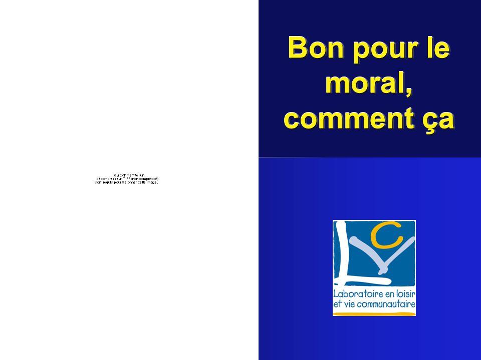 A.Thibault, avril 20052 Faire du bénévolat, cest bon pour le moral Des bénévoles De la communauté Des usagers À condition de respecter lécologie du bénévolat comme celle de leau et de lair