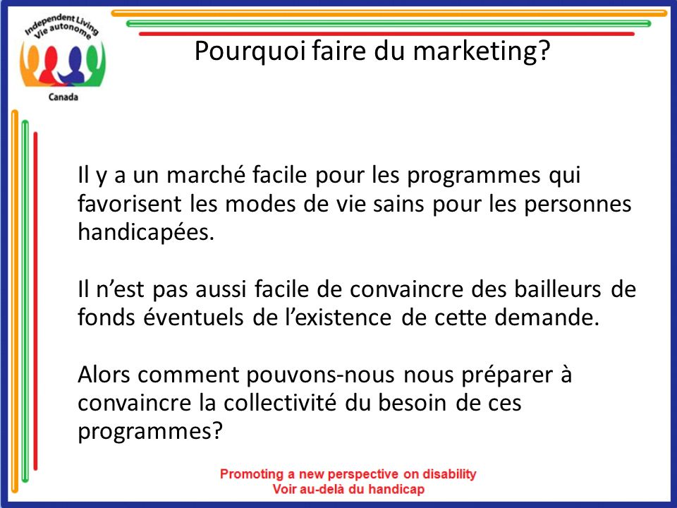 Pourquoi faire du marketing.