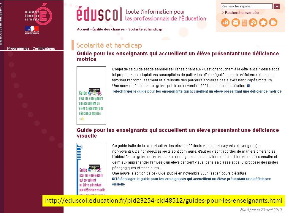 http://eduscol.education.fr/pid23254-cid48512/guides-pour-les-enseignants.html
