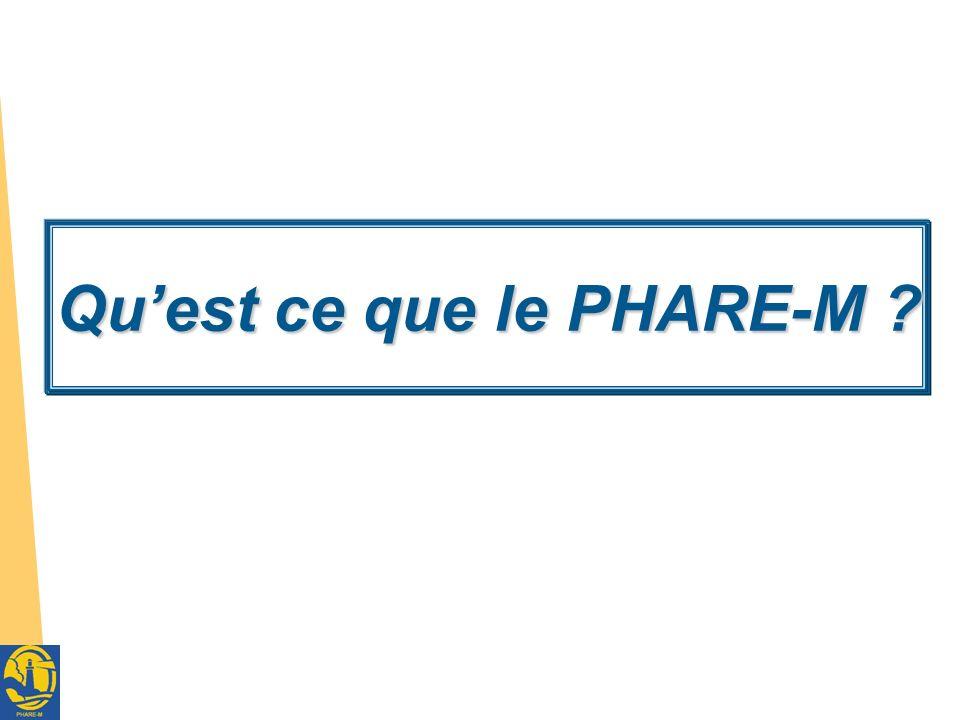 Réunion Réseau Muco Ouest – 7 octobre 2011 3 PHARE : P rogramme H ospitalier d A mélioration des R ésultats et de l E xpertise Programme de Formation – Action du PAQ dans les CRCM incluant les professionnels et les patients/familles avec le support méthodologique du TDI (Dartmouth Institute) et le soutien de lUS-CFF (Bruce Marshall, VP Clinical Affairs) Programme expérimental actuellement (phase pilote) porté par le Centre de Référence de Nantes Programme réalisable grâce : à lengagement des CRCM volontaires et à laide attendue de Vaincre la Mucoviscidose