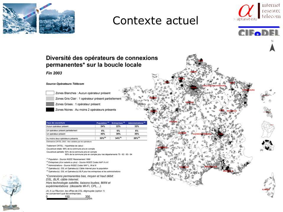 ENJEUX ECONOMIQUES Pourquoi le Haut Débit dans toutes les communes de France dici 2007 .