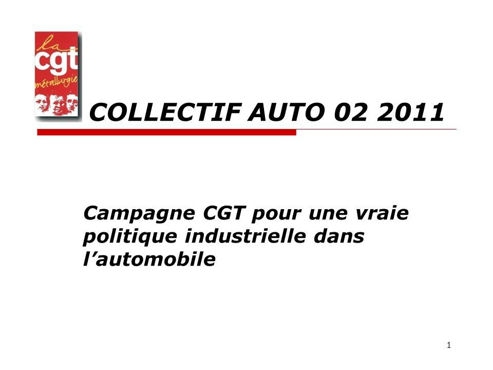 COLLECTIF AUTO 02 2011 Campagne CGT pour une vraie politique industrielle dans lautomobile 1