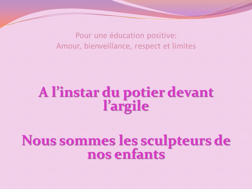 Pour une éducation positive: Amour, bienveillance, respect et limites Ne pas tout permettre: lorsquil commence à comprendre DIRE, DIRE, redire, redire…..