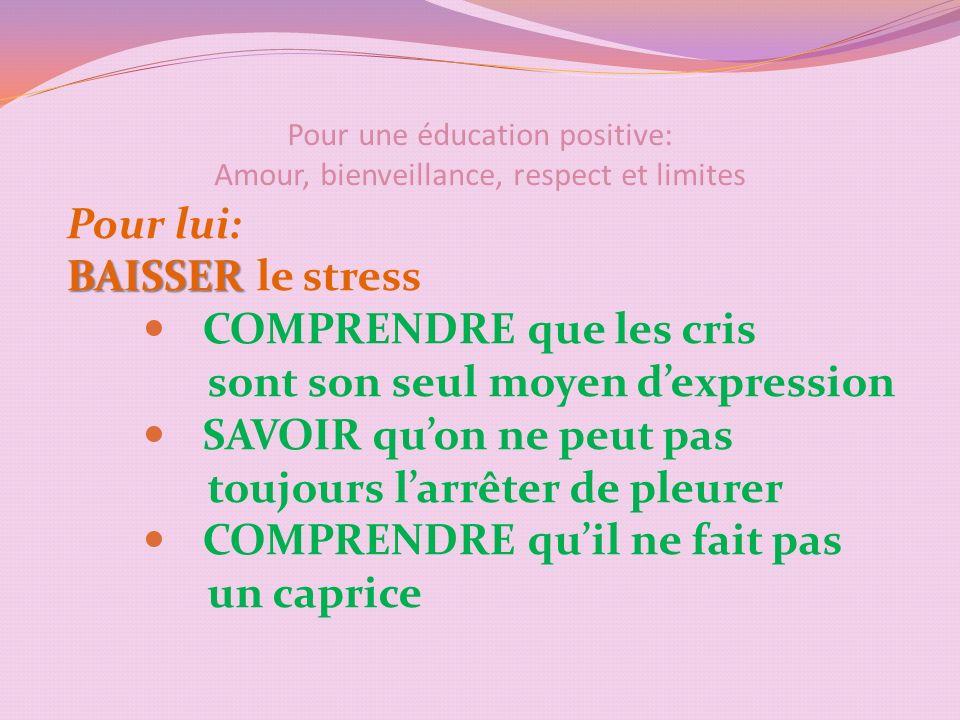 Pour une éducation positive: Amour, bienveillance, respect et limites Les limites sont frustrantes mais rassurantes !!!