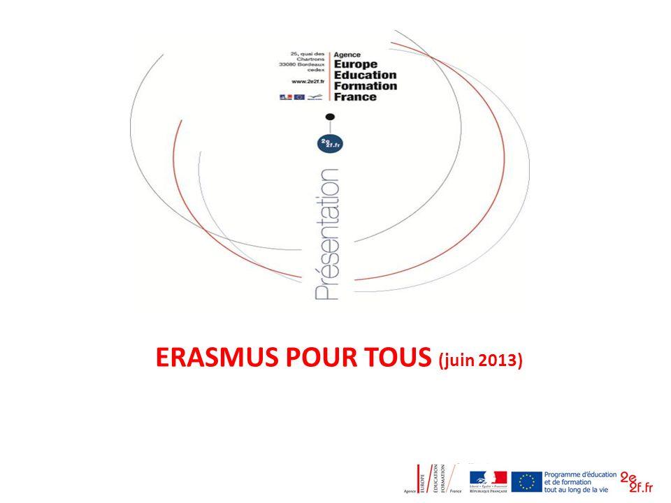 ERASMUS POUR TOUS (juin 2013)