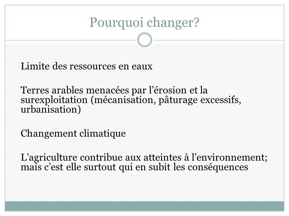 Pourquoi changer.