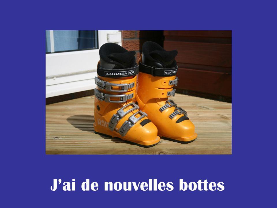 Jai de nouvelles bottes