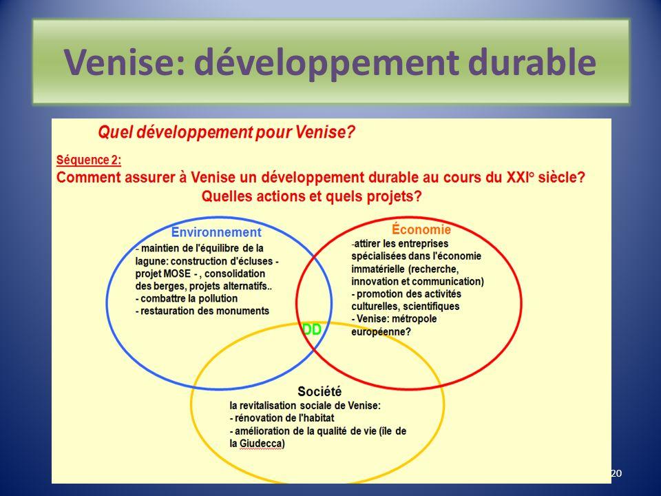 Venise : développement non durable 19