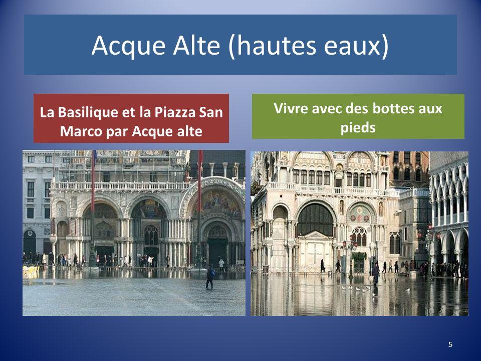 Acque Alte (hautes eaux) La Basilique et la Piazza San Marco par Acque alte Vivre avec des bottes aux pieds 5