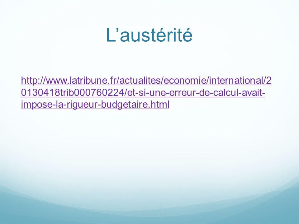 Laustérité http://www.latribune.fr/actualites/economie/international/2 0130418trib000760224/et-si-une-erreur-de-calcul-avait- impose-la-rigueur-budgetaire.html