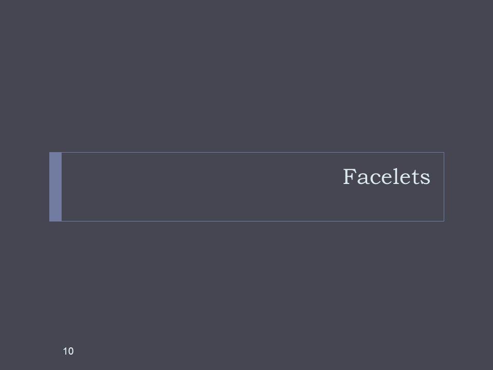 Facelets 10