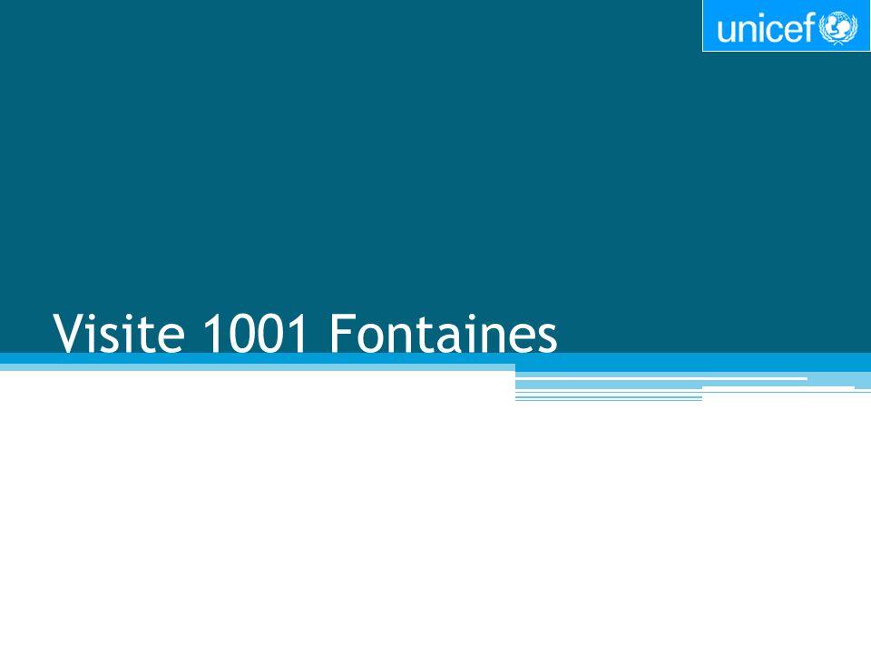 Visite 1001 Fontaines