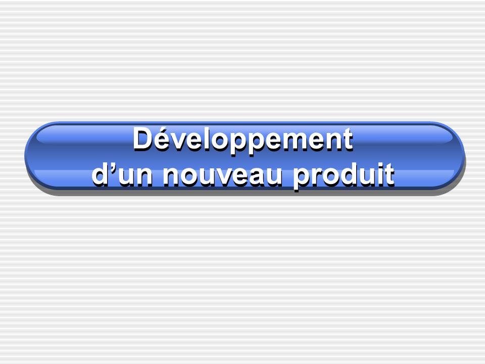 Développement dun nouveau produit