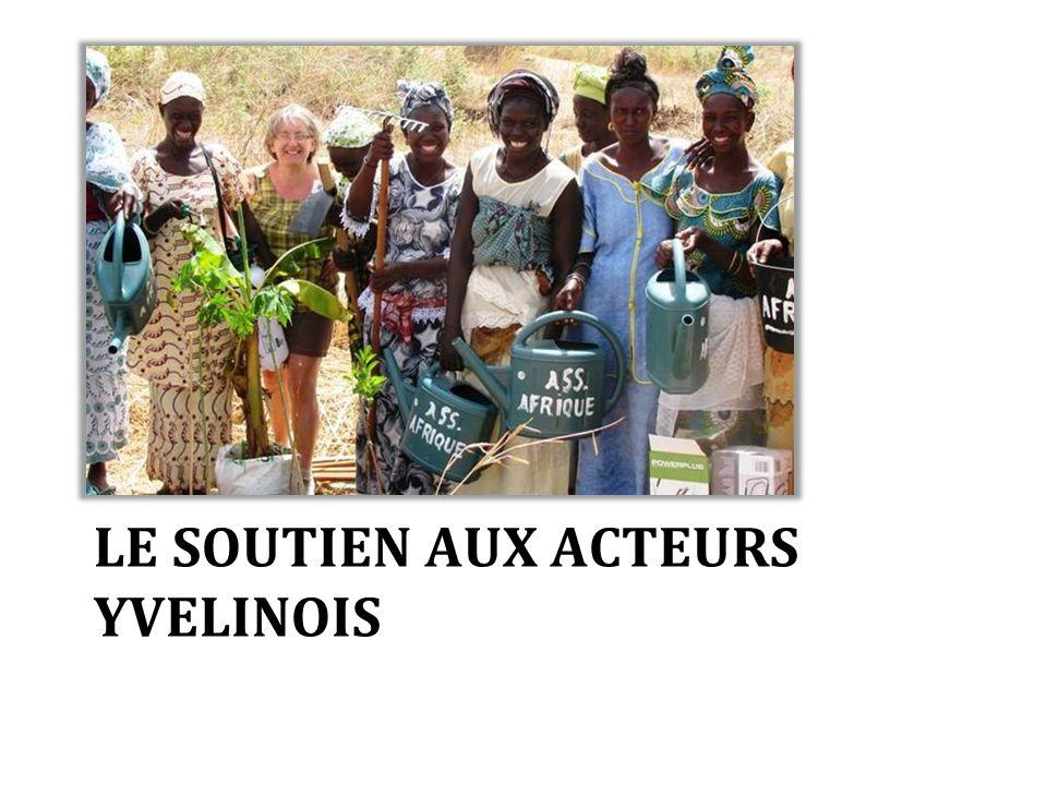 LE SOUTIEN AUX ACTEURS YVELINOIS