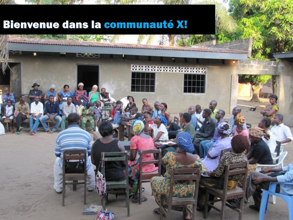 Bienvenue dans la Bienvenue dans la communauté X!