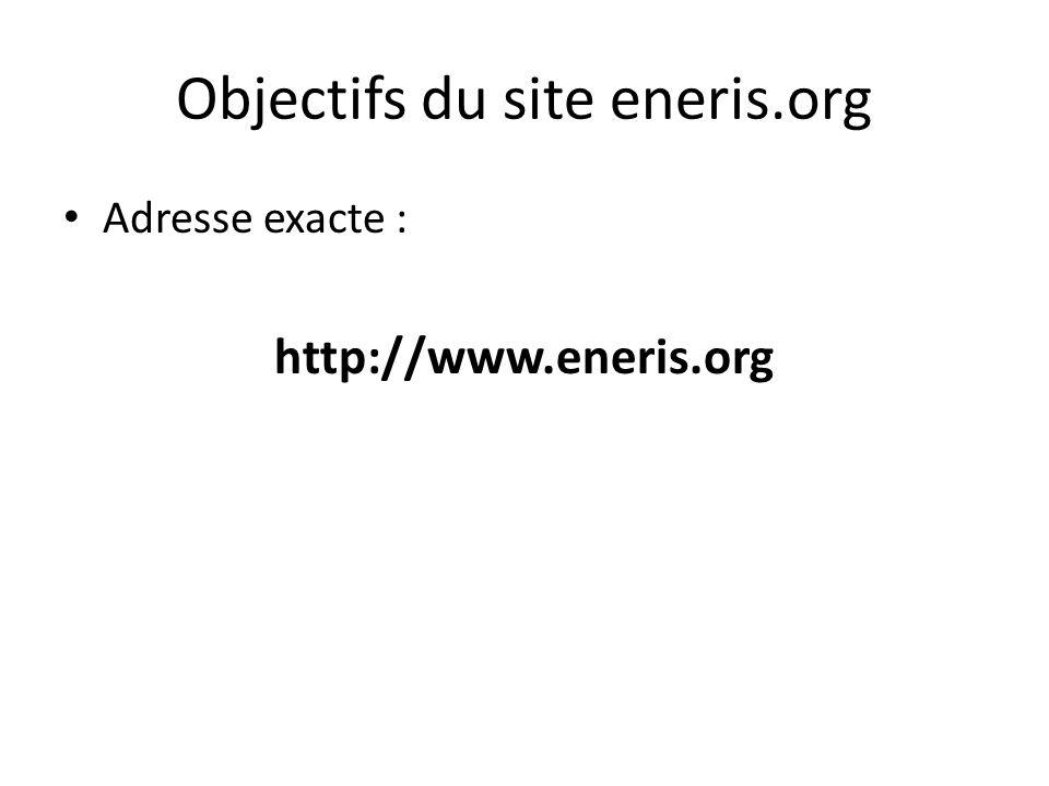 Adresse précise du site : https://www.ec-ol.org