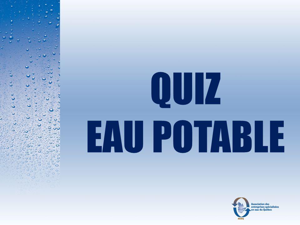 Réponse : B En utilisant la résine à 85 % de sa capacité, on obtient une économie de 43% de sel par régénération soit 6 lbs de sel par régénération.
