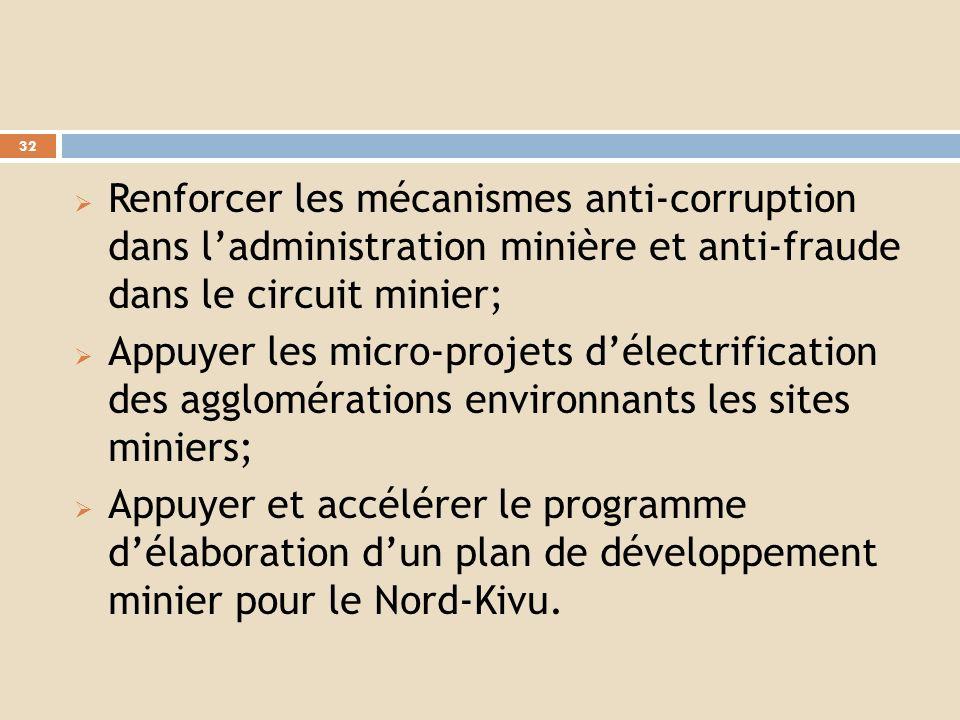 Signature dactes dengagements par les opérateurs miniers et les populations locales pour une meilleure gestion et la sécurisation des sites miniers ;