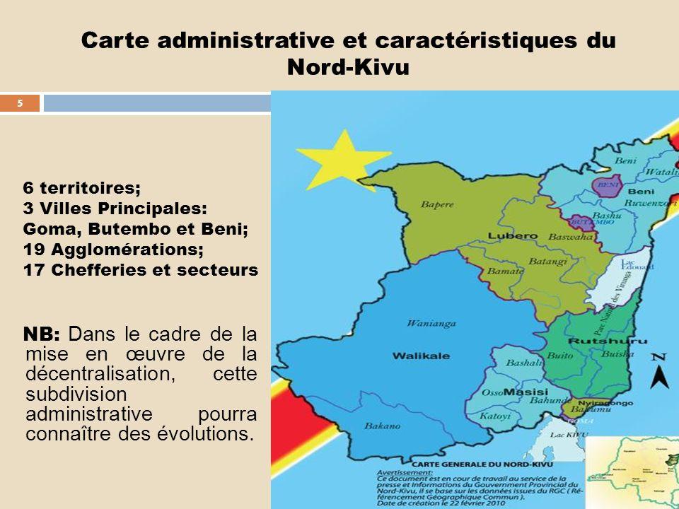 I. BREVE PRESENTATION DE LA PROVINCE : CARTE POSTALE DU NORD-KIVU 4